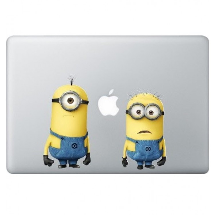 Despicable Me: Minions (2) MacBook Sticker Gekleurde Stickers
