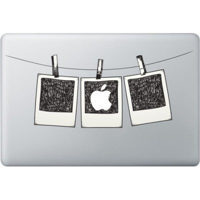 Polaroidfoto Macbook Sticker