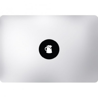 Bierpul MacBook Sticker