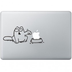 Simon's Cat (3) MacBook Sticker