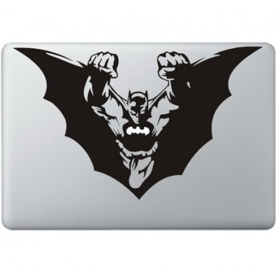 Batman Flying Macbook Sticker
