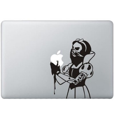 Sneeuwwitje Zombie MacBook Sticker