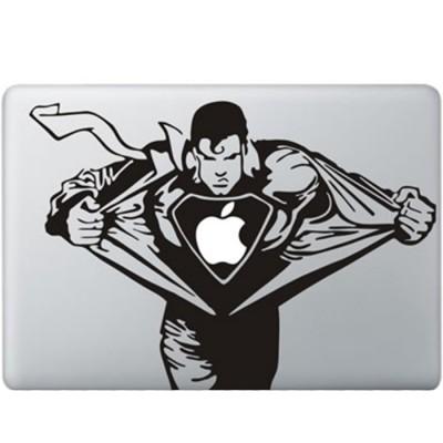 Superman MacBook Sticker Zwarte Stickers