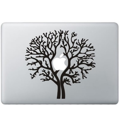 Apple Boom MacBook Sticker Zwarte Stickers