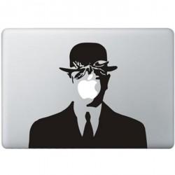 Magritte MacBook Sticker