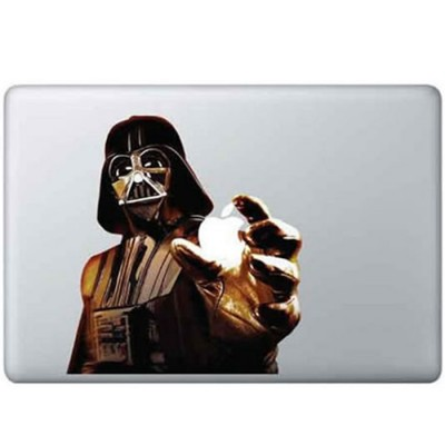 Darthvader Kleur MacBook Sticker Gekleurde Stickers