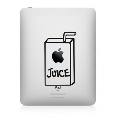 Apple Juice iPad Sticker