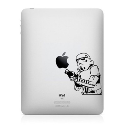 Stormtrooper iPad Sticker