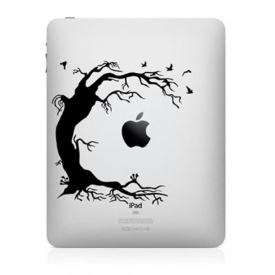Old Tree iPad Sticker