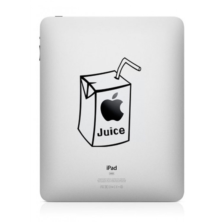 Apple Juice (2) iPad Sticker iPad Stickers