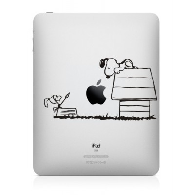 Snoopy (3) iPad Sticker iPad Stickers
