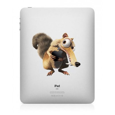 Ice Age Kleur iPad Sticker iPad Stickers