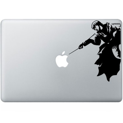 Harry Potter MacBook Sticker Zwarte Stickers