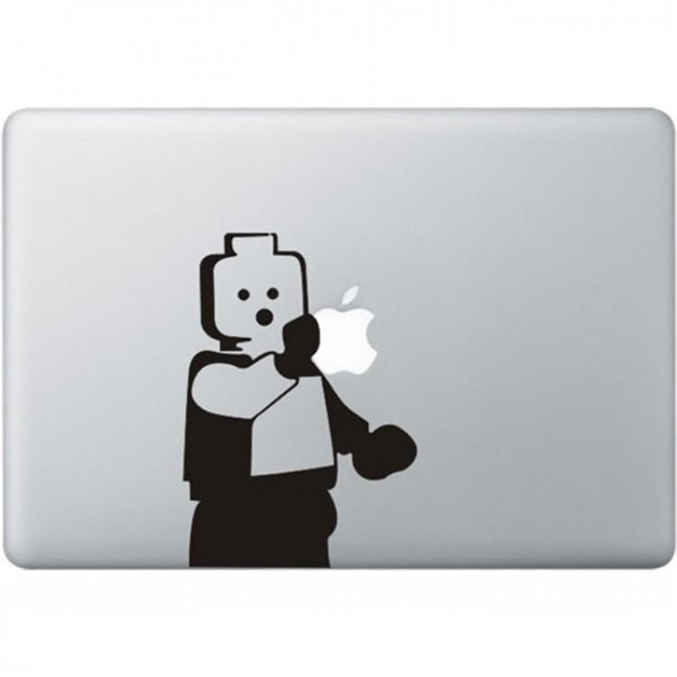 LEGO MacBook Sticker Zwarte Stickers