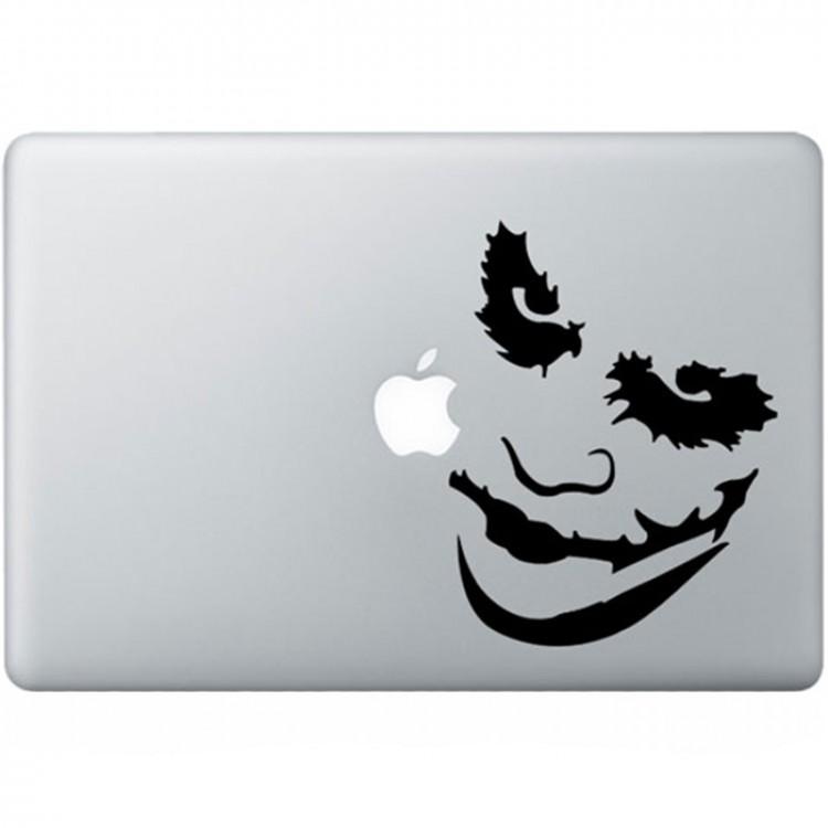 Batman Joker (2) MacBook Sticker Zwarte Stickers