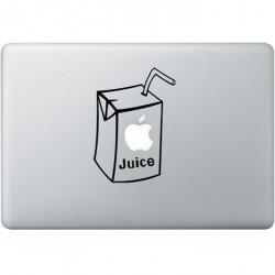 Apple Juice MacBook Sticker
