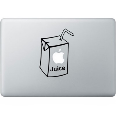 Apple Juice MacBook Sticker