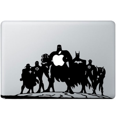 Justice League MacBook Sticker