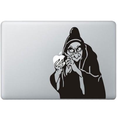 Sneeuwwitje Heks MacBook Sticker