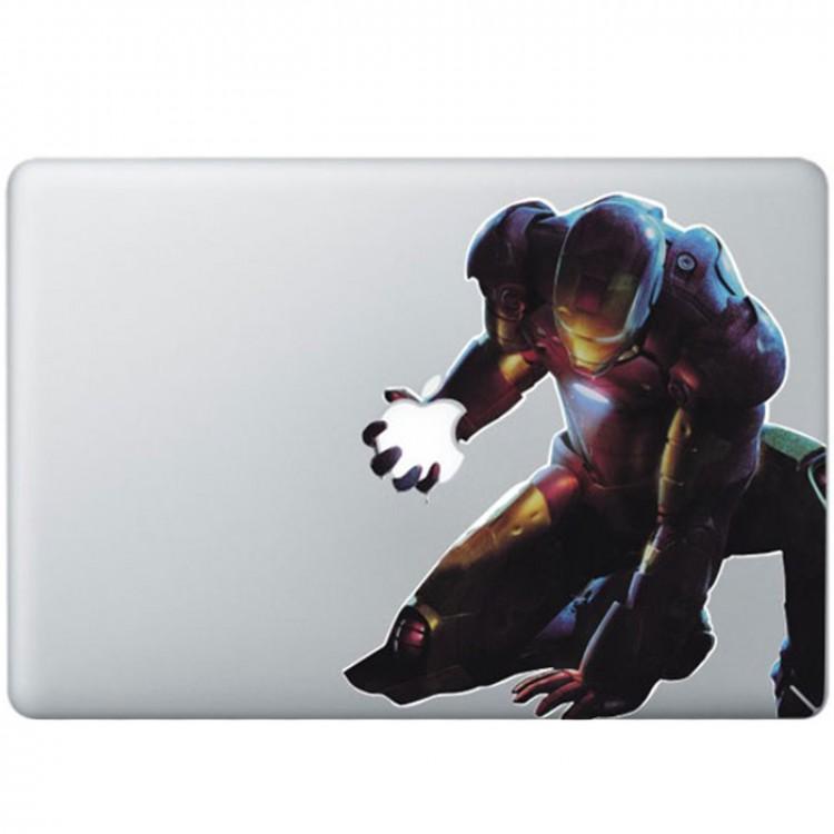 Iron Man (2) Kleur MacBook Sticker Gekleurde Stickers