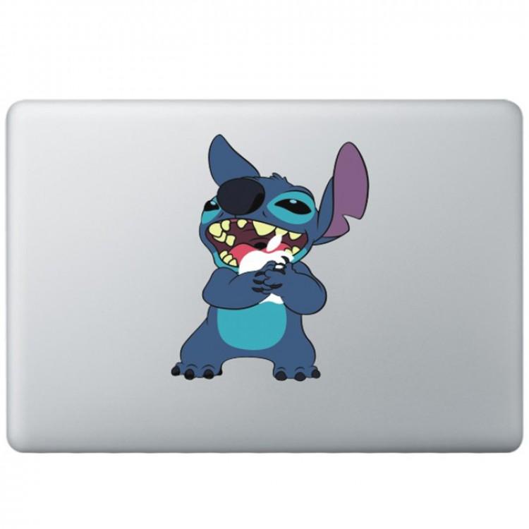 Stitch Kleur MacBook Sticker Gekleurde Stickers