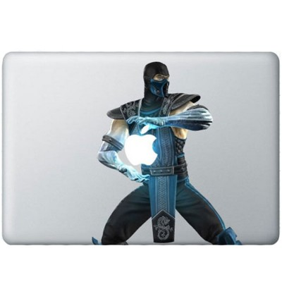 Sub-Zero Kleur MacBook Sticker Gekleurde Stickers