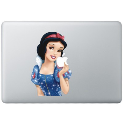 Sneeuwwitje Animatie (2) Kleur MacBook Sticker Gekleurde Stickers
