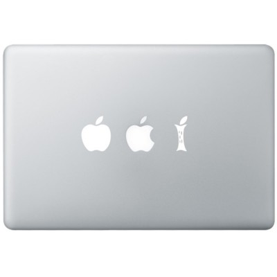 Eating Apple MacBook Sticker