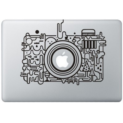 Apple Camera MacBook Sticker