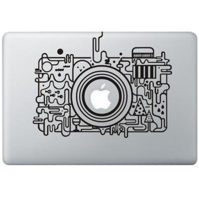 Apple Camera MacBook Sticker