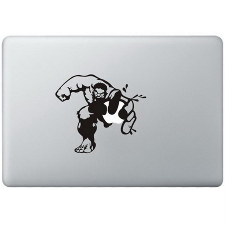 Hulk MacBook Sticker Zwarte Stickers