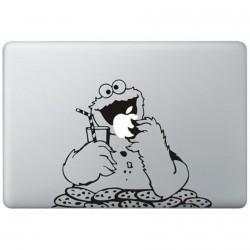 Cookie Monster (2) MacBook Decal