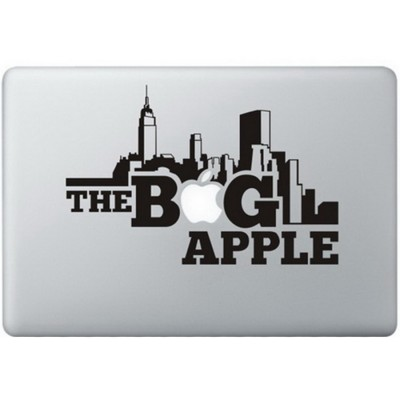 The Big Apple MacBook Sticker