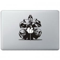 Samurai MacBook Decal