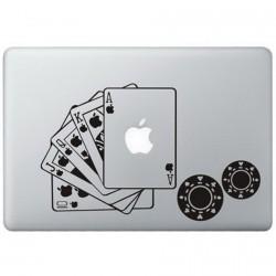 Poker MacBook Decal