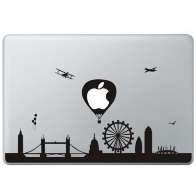 London Landmarks MacBook Sticker