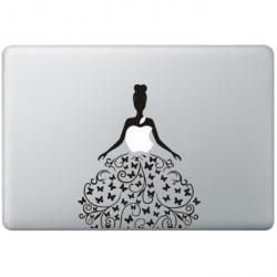 Butterfly Dress MacBook Decal