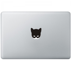 Catwoman Mask MacBook Decal