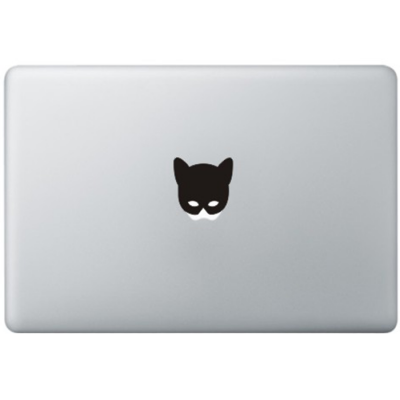 Catwoman Mask MacBook Sticker