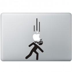 Vallende Appels MacBook Sticker