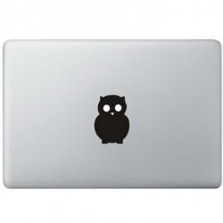 Owl Logo MacBook Decal