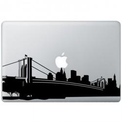New York MacBook Sticker