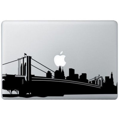 New York MacBook Sticker