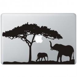 Afrika MacBook Sticker