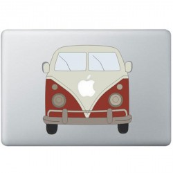 Volkswagen Busje Kleur MacBook Sticker