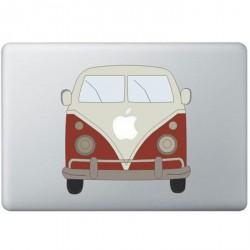 Volkswagen Busje Kleur MacBook Sticker