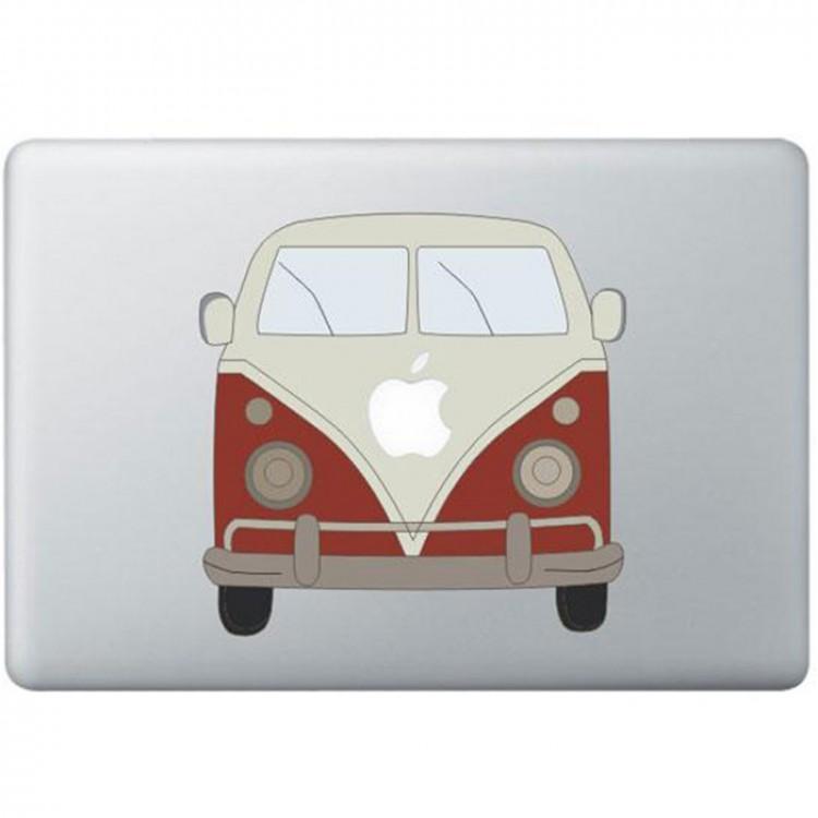 Volkswagen Busje Kleur MacBook Sticker Gekleurde Stickers