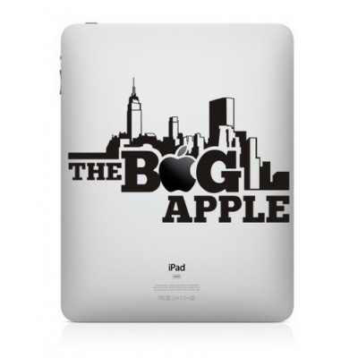 The Big Apple iPad Sticker iPad Stickers