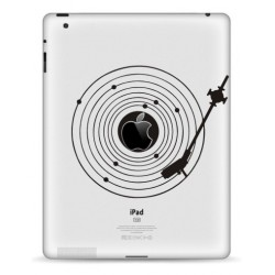 Platenspeler iPad Sticker