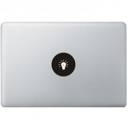 Lamp Logo MacBook Decal